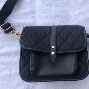 TALBOTS quilted black shoulder bag 🍣